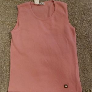 Chanel Pink Cashmere Sweater